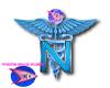 WSF Blue Nurse Pin