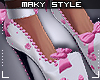 Ms~Cutie pink heels