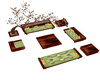 Oriental Grn Chat Sofa