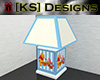 [KS] Pooh Lamp Blue