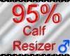 *M* Calf Resizer 95%