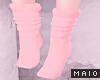 🅜 COW: pinku socks