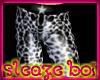 *JK* White Leopard Tight