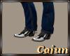 Cowboy Boots/White Trim