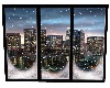 City Snow Window
