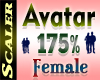 Avatar Resizer 175%