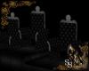 Gothic Five Seat Thrones