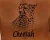 Cheetah Back Tattoo M