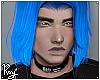IMVU Hair 1 Blue