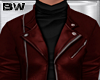 Red Cas Leather Jacket
