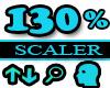 130% Scaler Head Resizer
