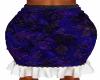 Blue Gathered Skirt
