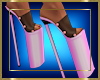 Platform Heels Pink