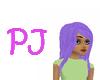 $PJ$ Purple hairdo