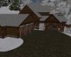Cozy Snowing Cabin Home