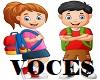 VOCES DE PEKE/NENE/KIDS
