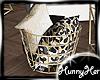 ♥Gold♥ Pillow Basket