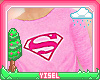 Y. Supergirl Sweater