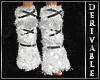 ~D~ Fur Leg Warmers