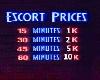 Escort Prices