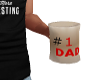 #1 DAD Coffee Mug