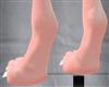 Anyskin bunny feet