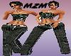 MzM Wide Leg Black Jeans