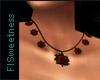 FLS Gothic Rose Necklace
