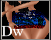 Dw stripe disco skirt