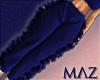 G. MLZ Ruffle Bot Blue