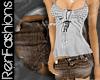 $R Vintage Mini Skirt -J
