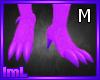 lmL Purple Feet M
