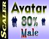 Avatar Resizer 80%