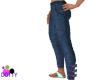 kid blue jean pants