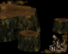 Forest Tree Stump Table