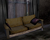 old grunge sofa couch