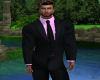 Suit - Lite Pink n Black