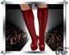 Gia Boots Red