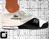 !CI Lacoste White Shoes