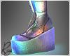 Holo Platform Boots