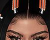 Hair clips ORANGE