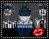 Blue Favor Table