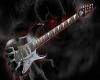 metal guitar poster