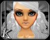[K] White Chiyo Hair