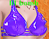 B! pvc idgaf purple bra