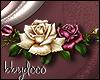 Antique Roses Sticker