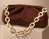 Brown Chain Pouch