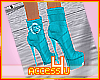 ! Agua Ankle Boots