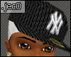 Fitted NY cap with DuRag