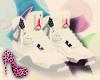 White Jordans cute